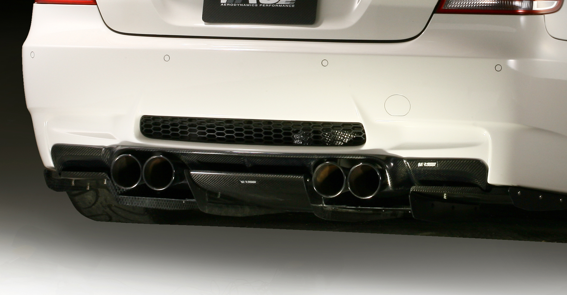 Vrs Bmw E92 M3 Coupe Rear Diffuser System 1