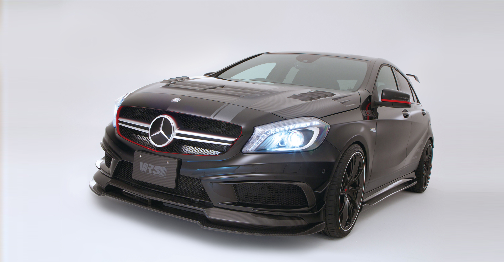 vrs mercedes a45 amg. Black Bedroom Furniture Sets. Home Design Ideas